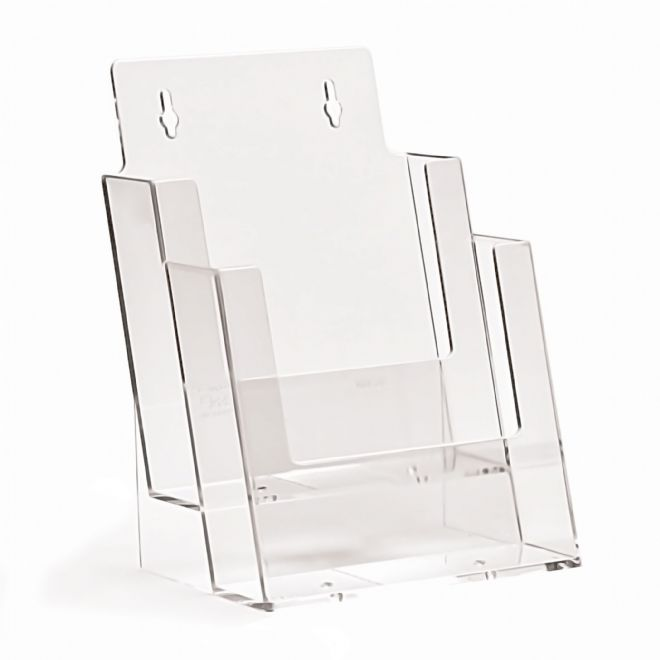 2 Pocket A5 Portrait Leaflet Holder